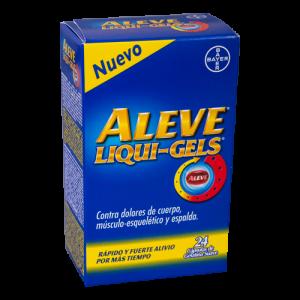 Aleve Liqui-Gels 200mg. 24 Capsulas.