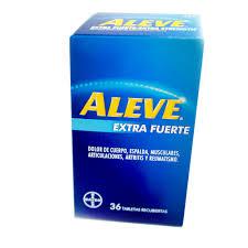Aleve Extra Fuerta, 36 tabletas recubiertas