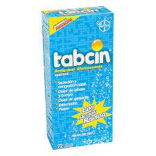 Tabcin Antigripal Efervescente Adultos, 72 Tabletas