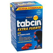 Tabcin Antigripal Extra Fuerte Día, 60 Cápsulas de gelatina blanda