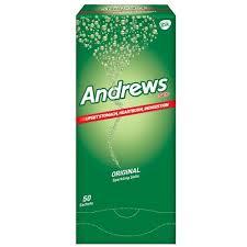 Sal Andrews, Clásica Polvo Efervescente, 50 sobres